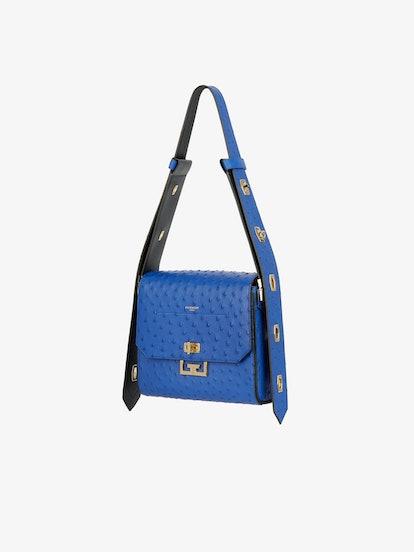 Medium Eden Bag in Ostrich Leather