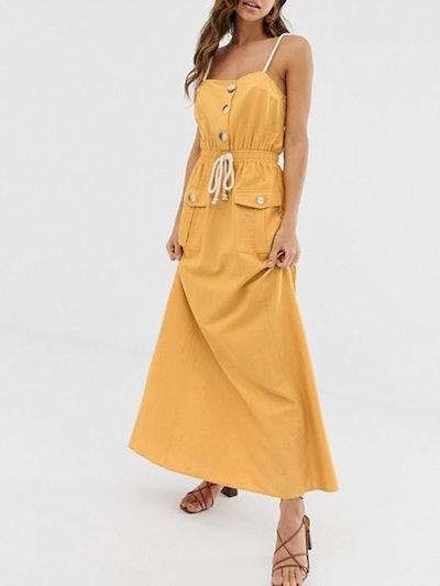Utility Maxi Dress