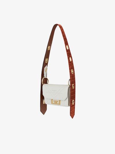 Nano Eden Bag in Two-Tone Leather