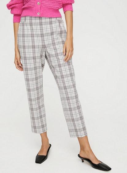 Wilfred Darontal Pant Cropped, Plaid Dress Pant