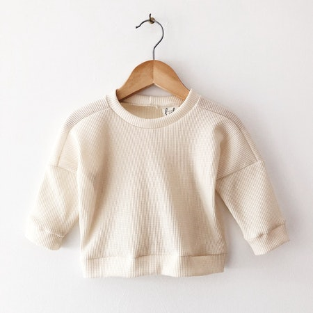 Cream Baby Sweater