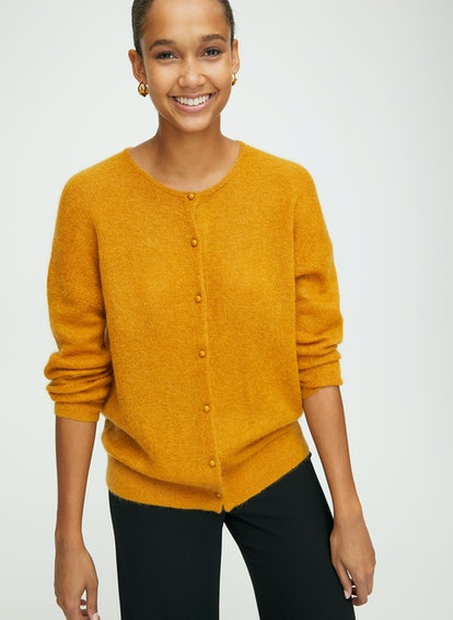 Babaton Harlan Sweater Button-Up Cardigan Sweater