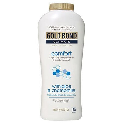 Gold Bond Comfort Body Powder Fresh Clean