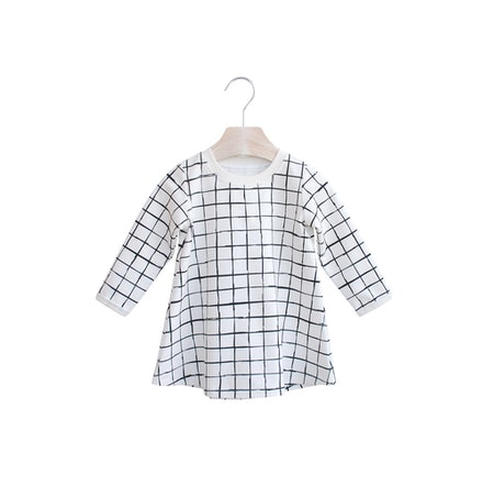 Checker Handmade Dress
