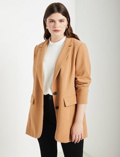 Long Tailored Blazer