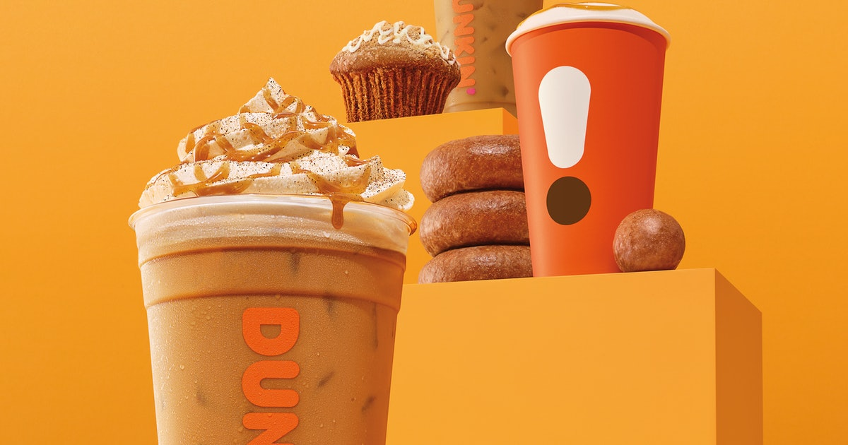 Dunkin's Pumpkin Menu Is Almost Back, So Get Excited