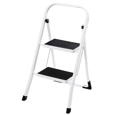 Delxo 2-Step Ladder Folding Step Stool Ladder