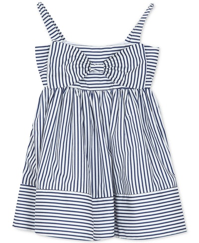 Baby Girls Striped Bow Dress