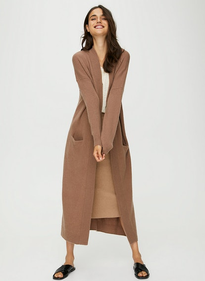 The Group by Babaton Laine Cardigan Long Cardigan Cocoon Sweater