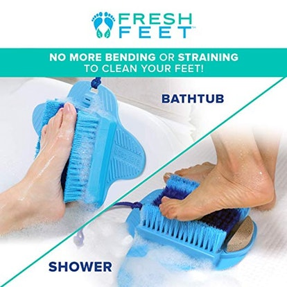 Allstar Innovations Fresh Feet- Foot Scrubber With Pumice Stone