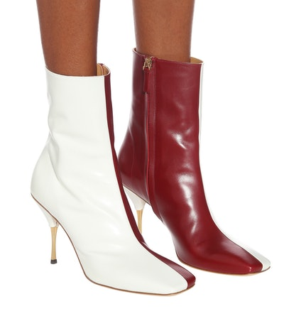 Svea Leather Ankle Boots