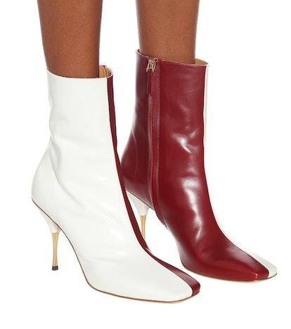 Svea Leather Ankle Boots