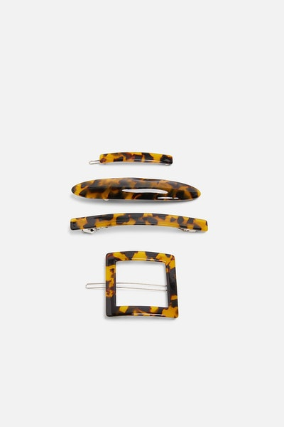 Pack Of Acetate Hair Clips