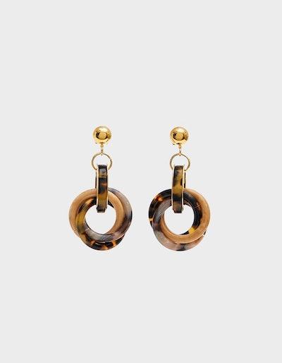 Rachel Comey Tangle Drop Earrings
