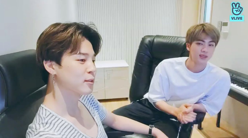 BTS' Jimin's VLIVE With Jin & RM Reveals He's Keeping A Solo