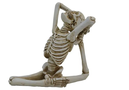 Yoga Skeleton Tabletop Accent