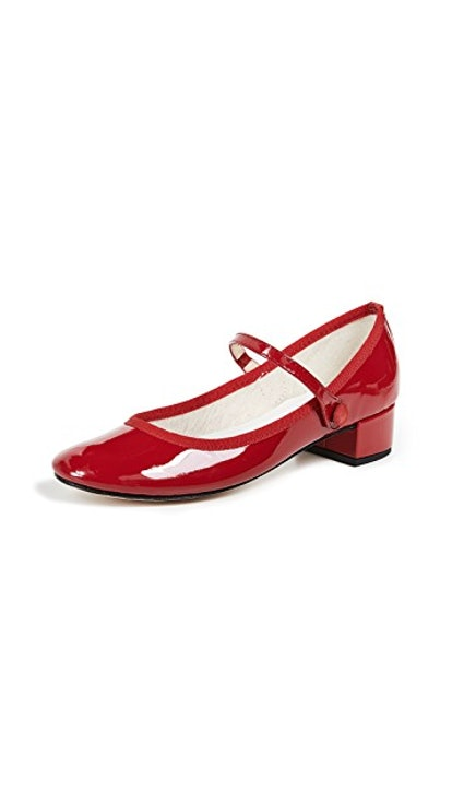 Rose Mary Jane Pumps