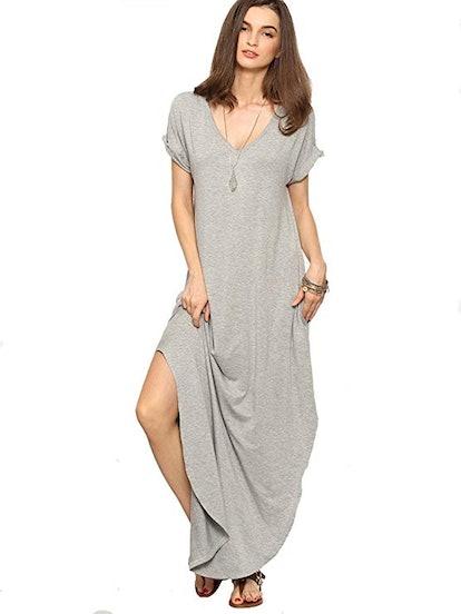 Verdusa Knit Maxi Dress