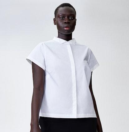 Aster Tuxedo Collar Shirt