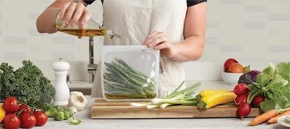 Stasher Reusable Sandwich Bag