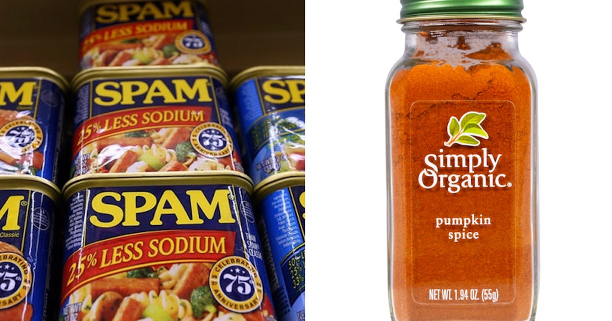 Pumpkin Spice Spam Actually Exists, Meaning Fall Has Gone Way Too Far