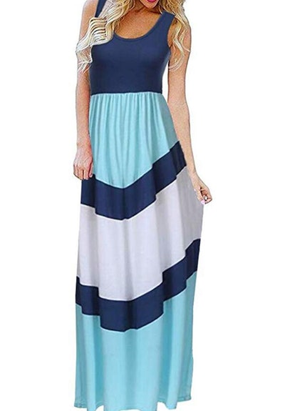 Sherosa Sleeveless Maxi Dress
