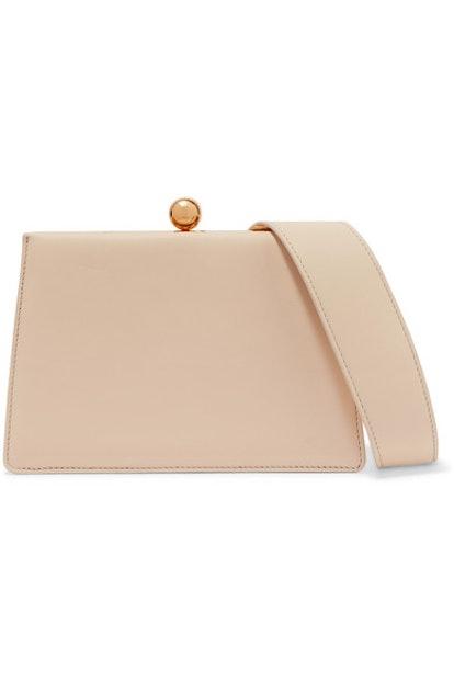 Mini Twin Leather Shoulder Bag