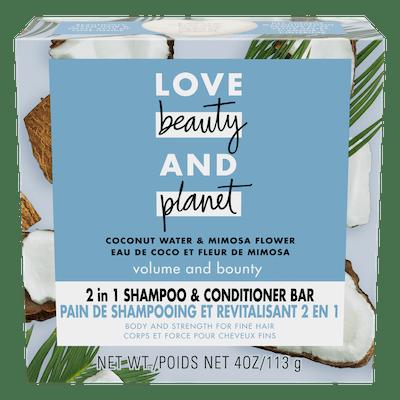 Coconut Water Shampoo + Conditioner Bar