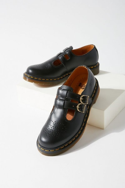 8065 Leather Mary Jane Shoe
