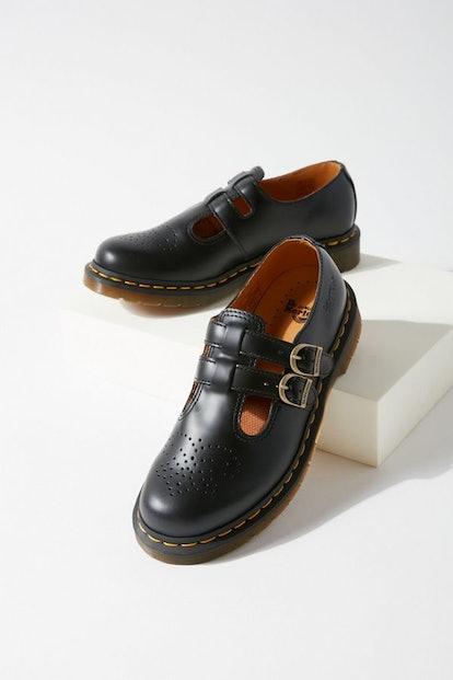 8065 Leather Mary Jane Shoe