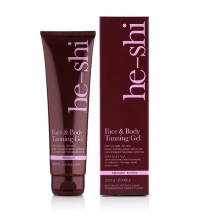 He-Shi Face and Body Tanning Gel