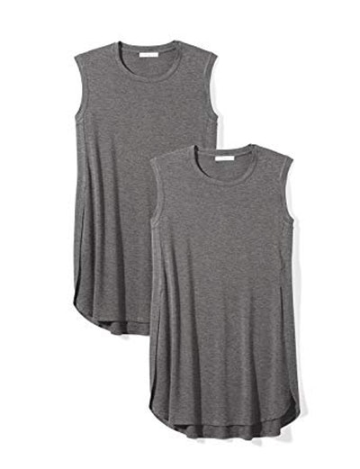 Daily Ritual Sleeveless Jersey Tunic (2-Pack)