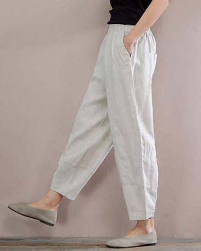 IXIMO Relaxed Linen Pants