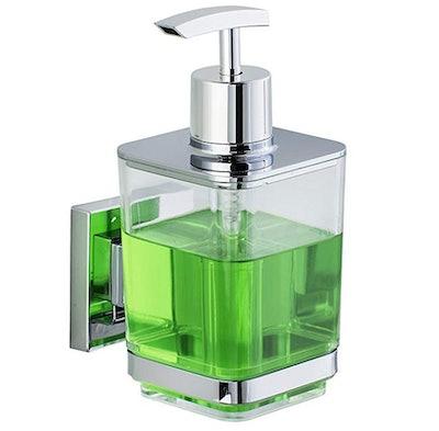 WENKO Quadro Soap Dispenser With Vacuum-Loc