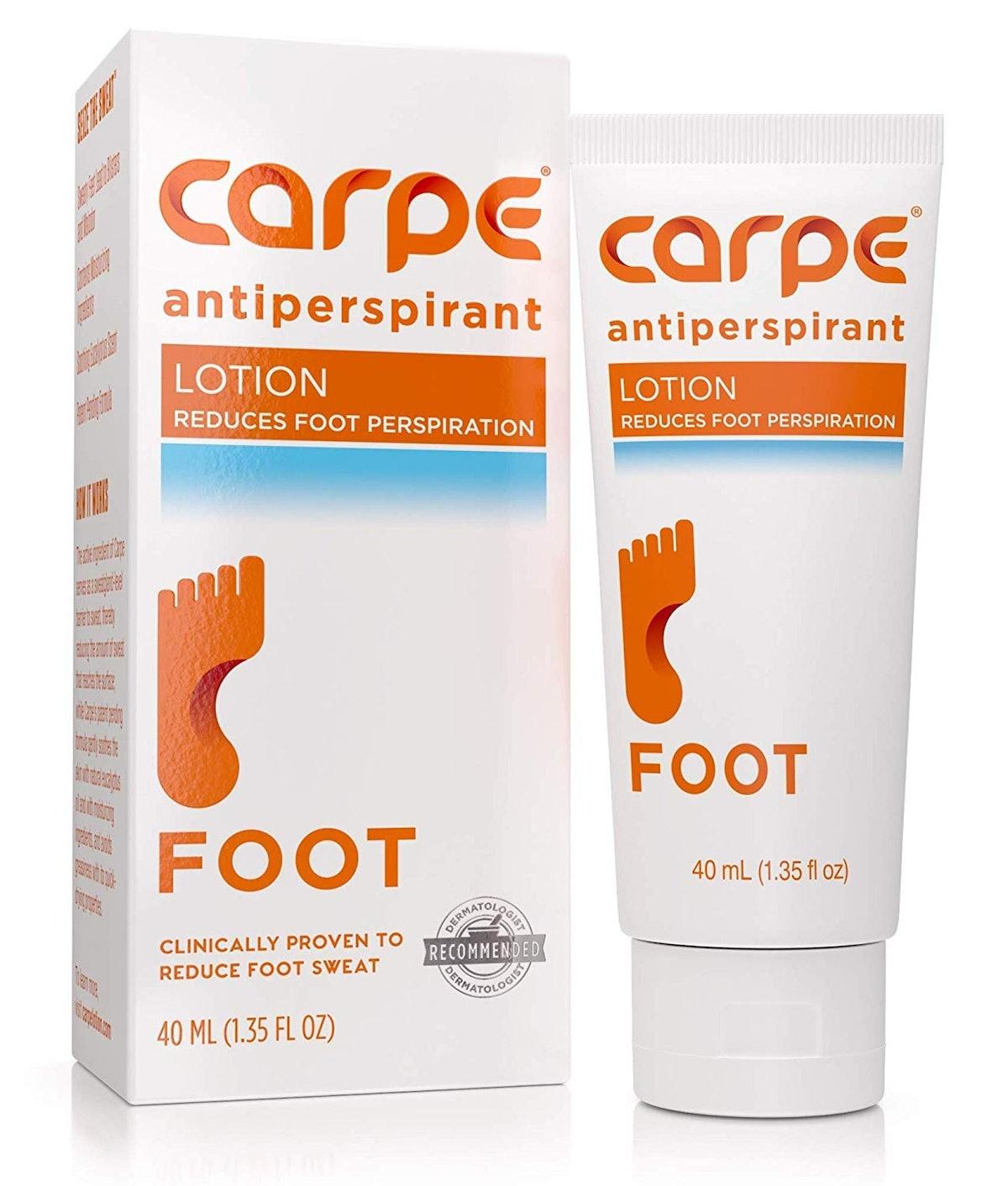 Carpe Antiperspirant Foot Lotion
