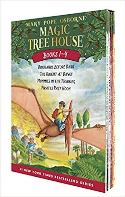Magic Tree House Boxed Set, Books 1-4 by Mary Pope Osborne