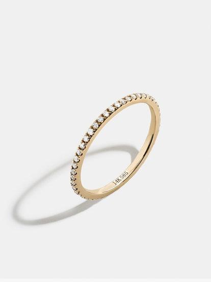 Sophia Diamond Stacking Ring