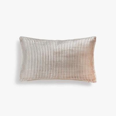 Pleated Velvet Cushion Cover