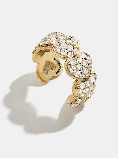 Rosa Diamond Ear Cuff