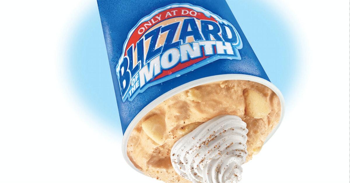 Dairy Queen's Pumpkin Pie Blizzard Is Returning For 2019 Super Soon