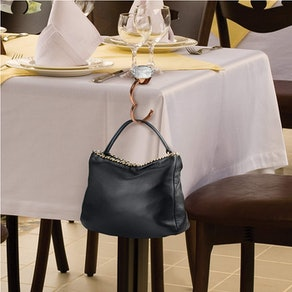 Fred Shine + Dine Handbag Holder And Light