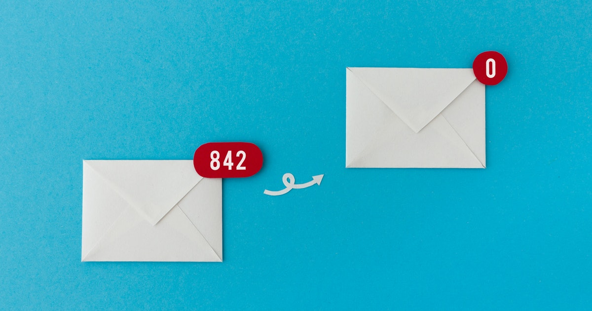 Does Inbox Zero actually mean you have your life together?