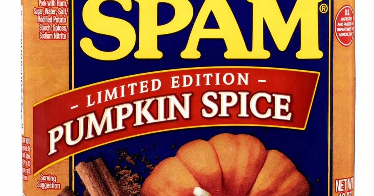 Pumpkin Spice Spam Is Real & TBH I'm Kind Of Here For It