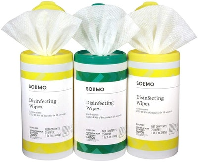 Solimo Disinfecting Wipes (3 Pack)