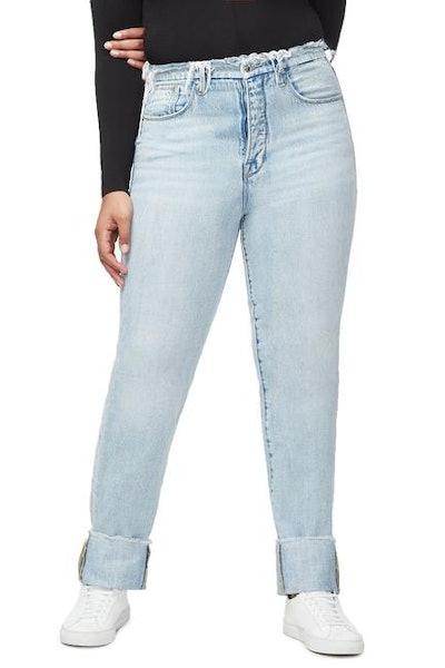 Good Boy Cuffed Jeans