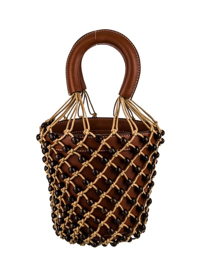 Moreau Leather Bucket Bag w/ Tags