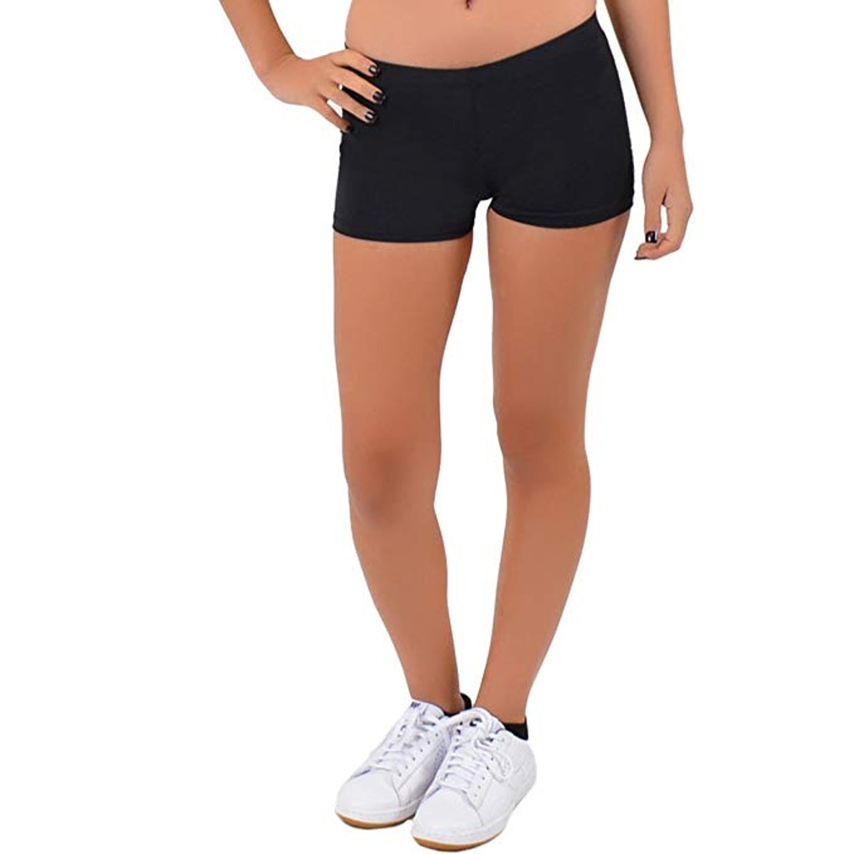 Stretch Is Comfort Dance Workout Shorts