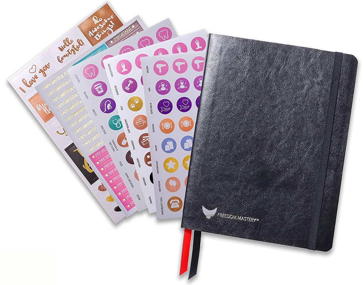 Law Of Attraction Undated Planner