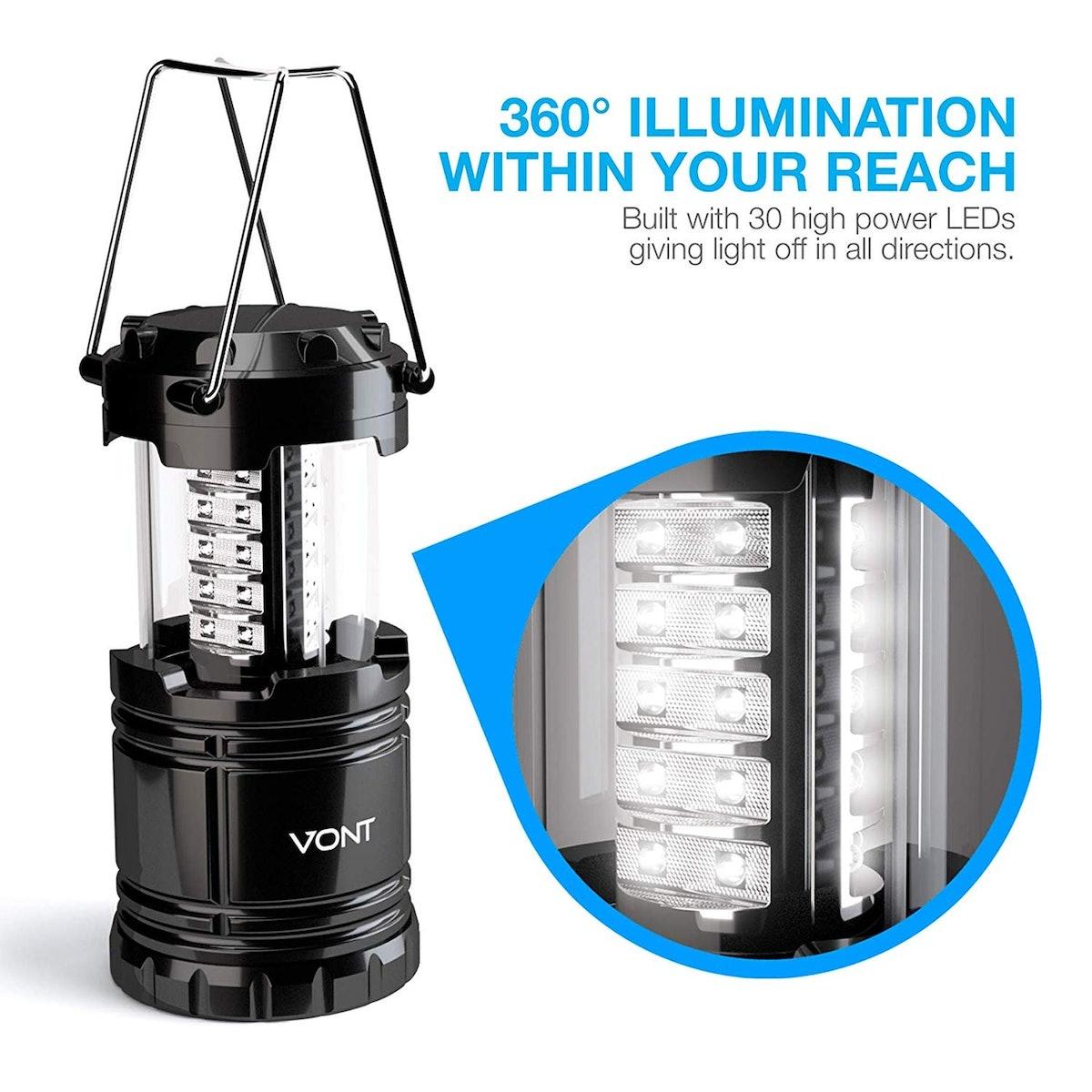 Vont LED Camping Lanterns (2 Pack)