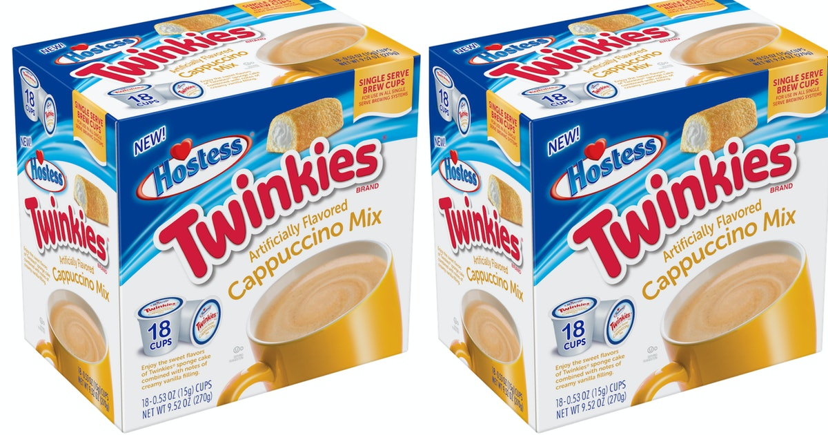 Twinkies Cappuccino & Ding Dongs Hot Chocolate Mix Just Hit Shelves